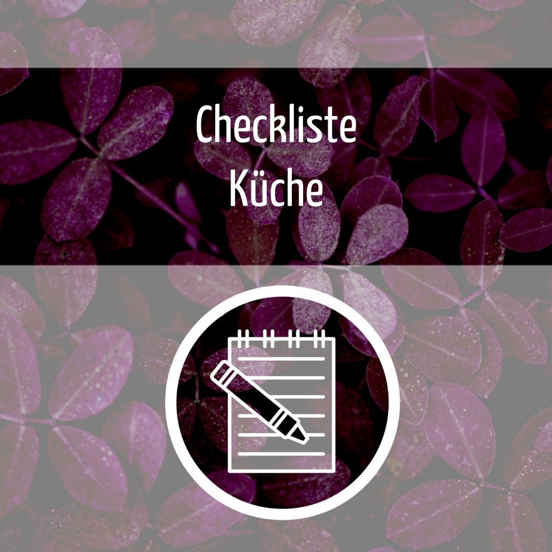 Zero Waste Checkliste Küche