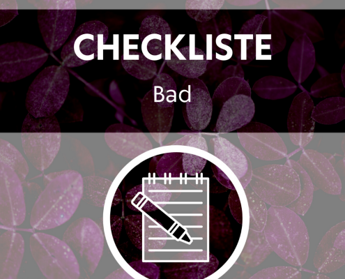 Zero Waste Checkliste Bad