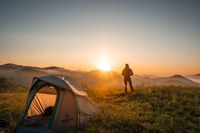 Nachhaltiges Reisen Camping